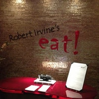 Photo taken at Robert Irvine's eat! by Gary C. on 1/20/2013