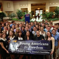 Photo taken at Young Americans for Freedom by Patrick C. on 12/18/2012