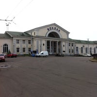 Photo taken at Poltava-Kyivska Railway Station by Наталия Д. on 9/14/2013