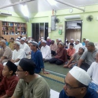 Photo taken at Surau al-Hakim by Zaher S. on 8/5/2013