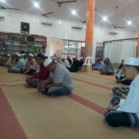 Photo taken at Surau al-Hakim by Zaher S. on 6/11/2013