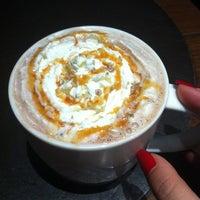 Photo taken at Starbucks by N🅾R🅰 〽. on 1/2/2013