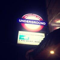 Photo taken at Underground by Влад К. on 8/5/2013
