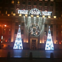 Photo taken at Moscow City Hall by Julia D. on 12/26/2012
