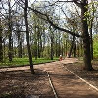 Photo taken at Парк «Дубки» by TsvetkovAA on 5/9/2013