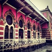 Photo taken at Sirkeci Tramvay Durağı by Tolga S. on 2/28/2013