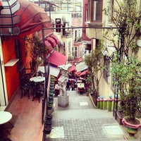 Photo taken at Cezayir Sokağı by Tolga S. on 3/7/2013
