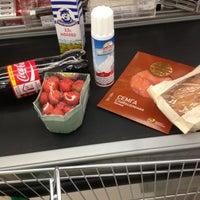 Photo taken at Супермаркет «ХЦ» by Svetlana S. on 10/6/2012