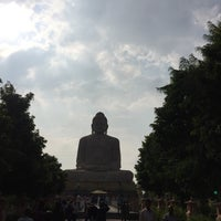 Photo taken at Great Buddha Statue by Huynh B. on 9/29/2016