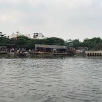 Photo taken at Phà An Phú Đông by Huynh B. on 2/1/2017