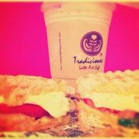 Photo taken at Tradiciones Latte Art Café by Raquel M. on 11/13/2012