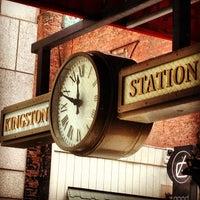 Photo taken at Kingston Station by Joe B (. on 3/15/2013