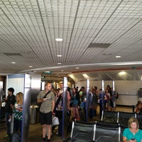 Photo taken at Gate 6 by Joe B (. on 7/23/2013