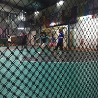 Photo taken at The Challenger Sports Centre by Hood I. on 5/12/2017