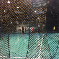 Photo taken at The Challenger Sports Centre by Hood I. on 3/17/2017