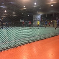Photo taken at The Challenger Sports Centre by Hood I. on 4/7/2017