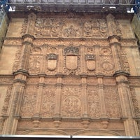 Photo taken at Fachada Universidad by Maurizio G. on 10/22/2012