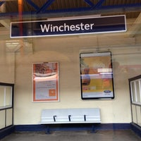 Photo taken at Winchester Railway Station (WIN) by Paul H. on 5/16/2013