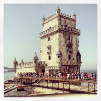 Photo taken at Belém Tower by Elena S. on 8/23/2013