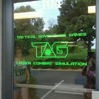 Photo taken at Tactical Adventure Games **TAG** Laser Combat Simulation by Sharon B. on 7/28/2013