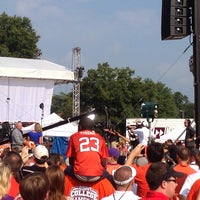 Photo taken at ESPN College GameDay by Scott O. on 8/31/2013