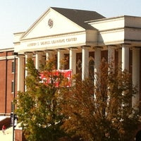 Photo taken at DeMoss Hall by Scott O. on 10/6/2012