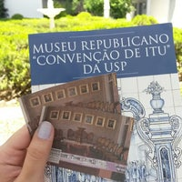 Photo taken at Museu Republicano by Bianca G. on 1/2/2015
