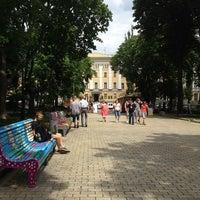 Снимок сделан в Парк им. Т. Г. Шевченко пользователем Анна М. 6/15/2013