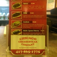 Foto tomada en Chicago Cheesesteak Company  por what white elephant el 8/9/2014