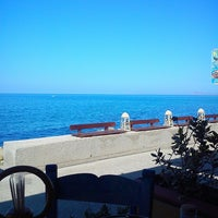 Photo taken at Κολυμπάρι Beach by nikol v. on 8/3/2014