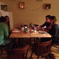 Photo taken at Evín Wine store & bar by Elisa D. on 2/20/2014