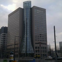 Photo taken at The Westin Warsaw by Krzysztof C. on 12/1/2012