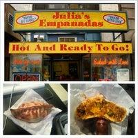 Photo taken at Julia's Empanadas by Harvey a. on 7/17/2013