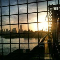 Photo taken at Williamsburg Bridge Pedestrian & Bike Path by Janelle C. on 5/6/2013
