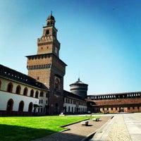 Foto scattata a Castello Sforzesco da Giacomo I. il 4/24/2013