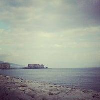 Photo taken at Lungomare di Napoli by Giacomo I. on 2/16/2013