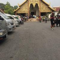 Photo taken at Wat Chiang Man by qhaii on 4/23/2017