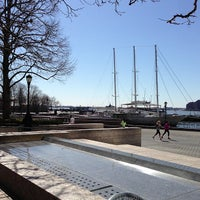Photo taken at MYC Manhattan Yacht Club by Ori N. on 4/6/2013