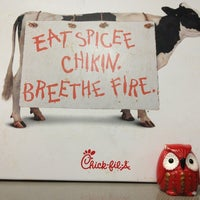 Photo taken at Chick-fil-A by Sarah S. on 1/19/2013