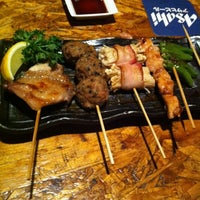Photo taken at En Japanese Dining Bar (Mohammed Sultan) by Joanna L. on 10/28/2012