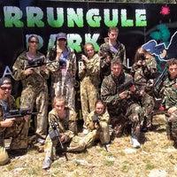 Photo taken at Burrungule Park Paintball by Vince C. on 12/31/2013