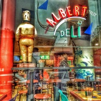 Photo taken at Albert Gourmet Deli by Vince C. on 6/3/2014