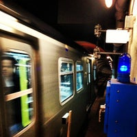 Photo taken at Yaletown - Roundhouse SkyTrain Station by Eric D. on 10/16/2012
