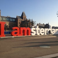 Photo taken at I amsterdam by Sérgio G. on 1/14/2013
