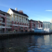 Photo taken at Disney's Boardwalk Villas by C.J. G. on 12/28/2012