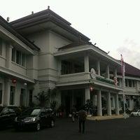 Photo taken at Balai Kota Malang by Dino W. on 9/22/2016