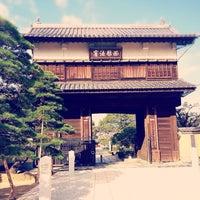 Photo taken at 崇福寺 黒田家墓所 by purinko on 12/10/2014
