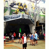 Photo taken at Universal Studios Singapore by Cef C. on 7/16/2013