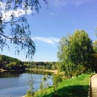 Photo taken at Озеро в Красногорском лесу by Sergey A on 9/20/2015