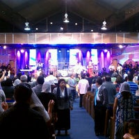 Photo taken at ELIM Central Los Angeles by Juan R. on 7/24/2013